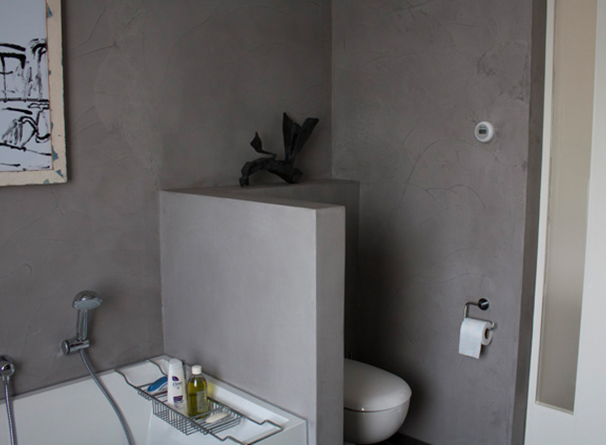 Badkamer afwerken